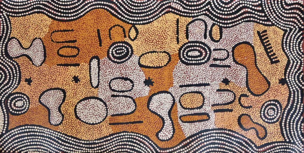 Donna Nungurrayi, Pintupi, Sans Titre, Red Dunes Gallery