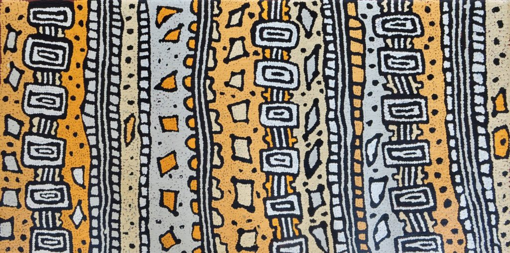 Raymond Tjapaltjarri, Pintupi, Sans Titre, Red Dunes Gallery