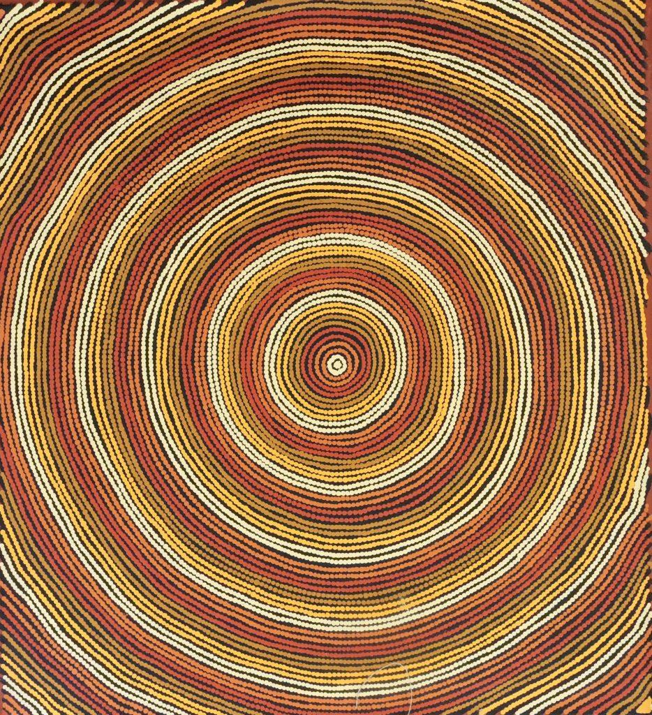 Joy Nampitjinpa, Pintupi, Sans Titre, Red Dunes Gallery
