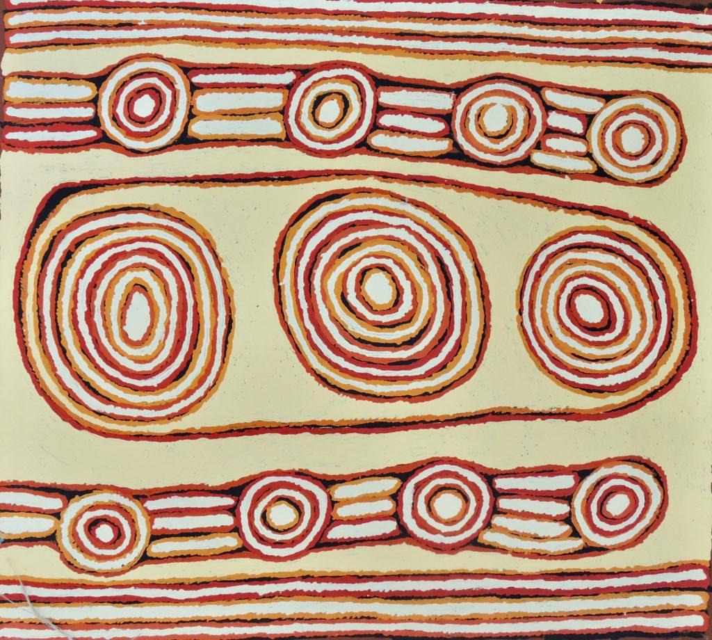 Pantjiya Nungurrayi, Pintupi, Luritja, SansTitre, Red Dunes Gallery